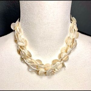 Vintage Mother of Pearl Multi-Strand Chocker